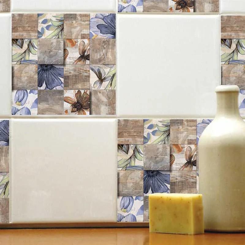 Set stickere decorative faianta Flori