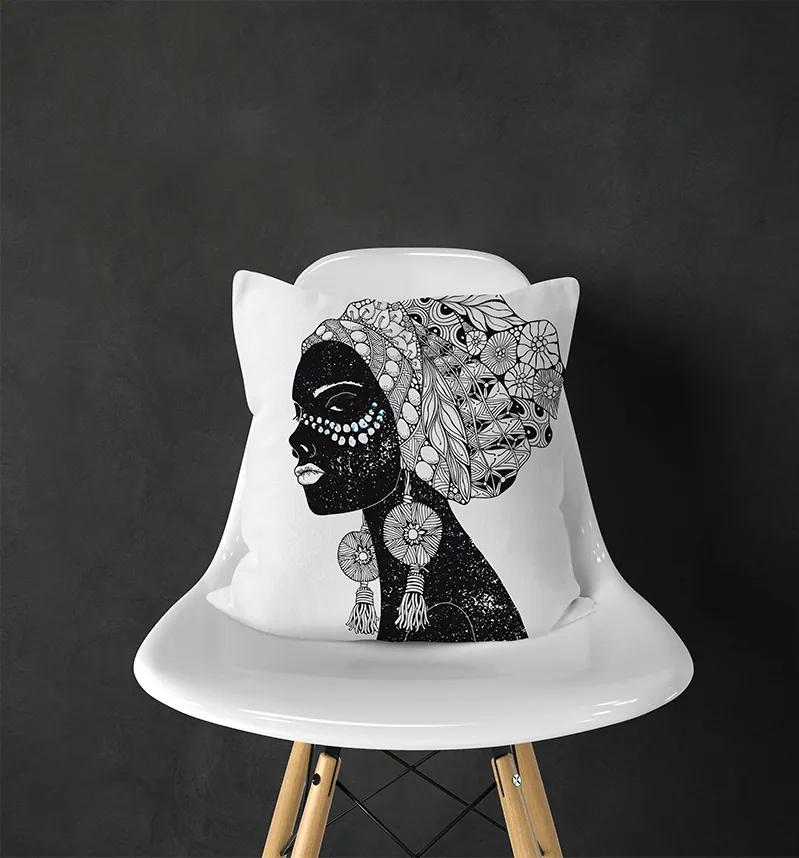 Fata de Perna Decorativa Girl with Ring 44x44 cm