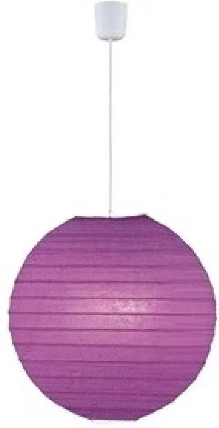 Trio 3490400-92 Pendul cu 1 braț PAPER violet excl. 1 x E27, max. 60W