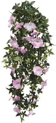 Floare artificiala, petunie curgatoare, 80 cm, roz