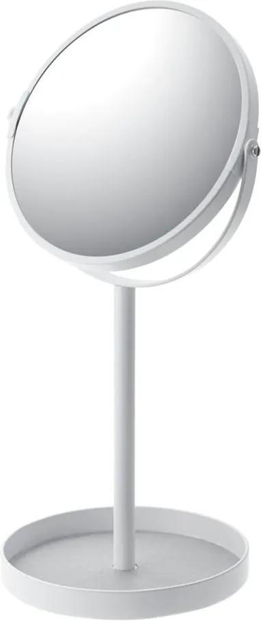 Oglindă cu tăviță YAMAZAKI Matsuyama, alb