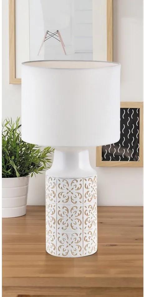 Rábalux 4310 Lampa de masa de noapte alb alb E27 1X MAX 60W