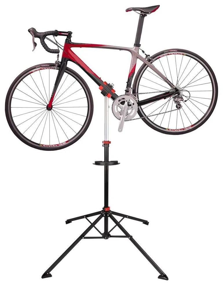 Stand pentru reparatii biciclete cu suport pentru scule cadou