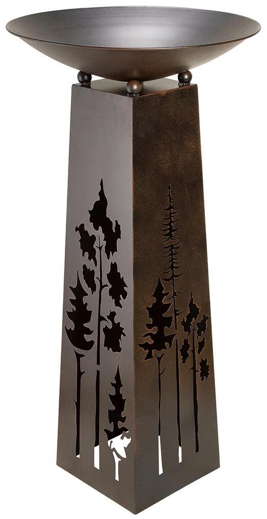 Suport flori HEIMATWALD, metal, 58 x 117 cm