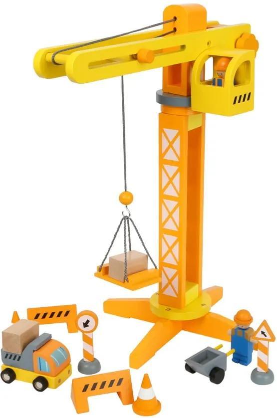 Macara din lemn pentru copii Legler Construction
