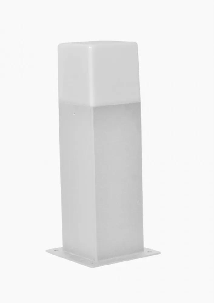 Trio HUDSON 520060187 Stalpi și lampadare de exterior argintiu aluminiu incl. 1 x E14, 4W, 3000K, 320Lm