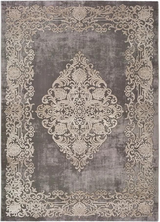 Covor Universal Izar Ornaments, 160 x 230 cm, gri