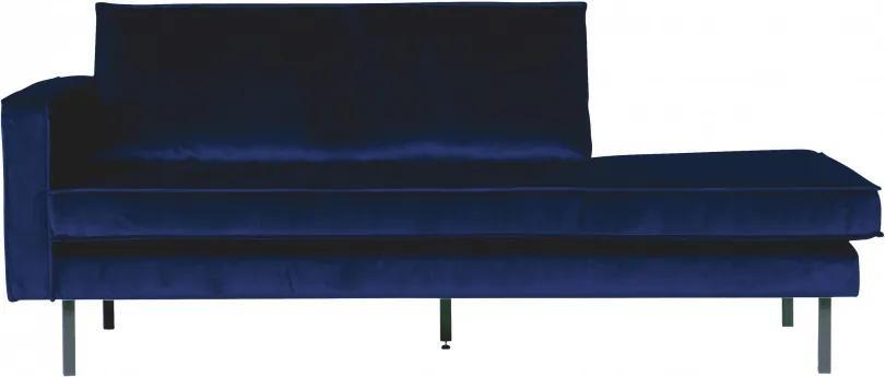 Canapea de zi Rodeo pe stânga, 2 locuri, albastru deschis