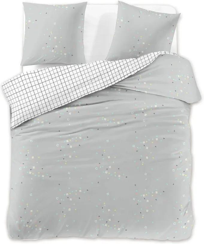 Lenjerie de pat din bumbac satinat DecoKing Modest, 200 x 220 cm