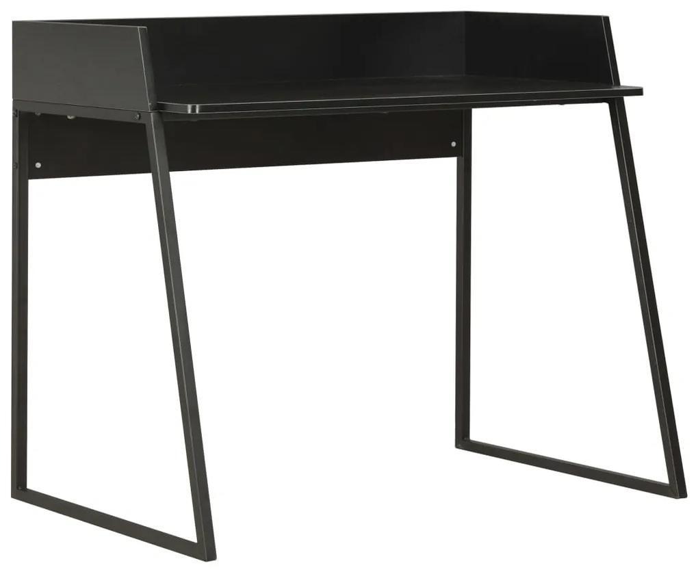 20268 vidaXL Birou, negru, 90 x 60 x 88 cm