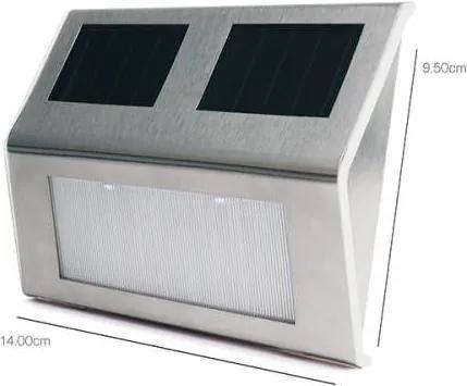Lampa solara de perete pentru exterior