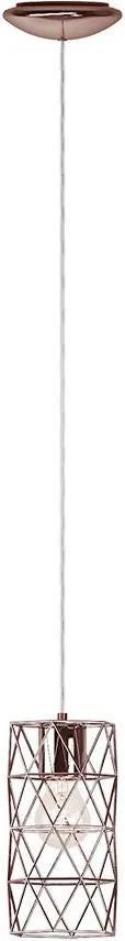 Eglo 97065 - Lampa suspendata ESTEVAU 1xE27/60W/230V