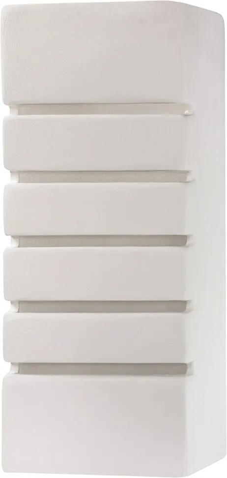 Aplică perete SAMIR 1xE27/60W/230V alb