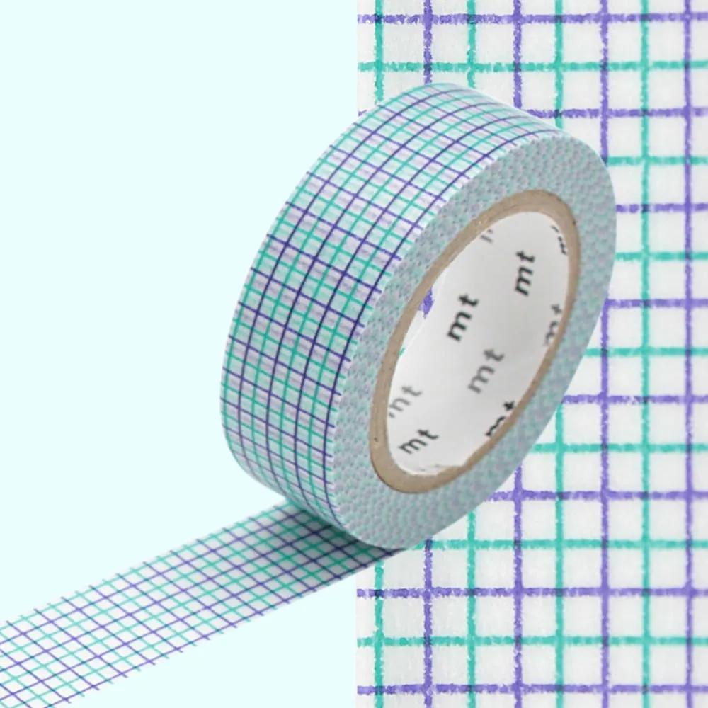Bandă decorativă Washi MT Masking Tape Sabine, rolă 10 m