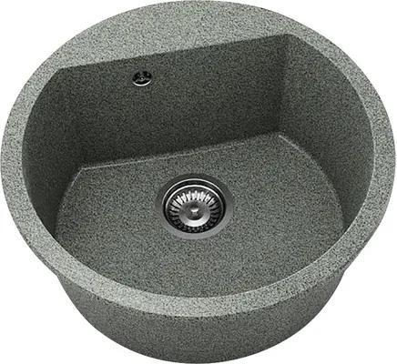 Chiuveta bucatarie rotunda FAT Avangard 223 din granixit, Ø 51 cm, Rosetta Stone