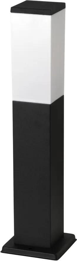 Rábalux 8338 Lampadare exterior Bonn negru mat metal E27 1x MAX 60W IP44