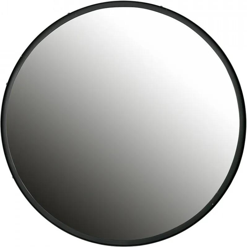 Oglinda rotunda din metal 80 cm Lauren XL