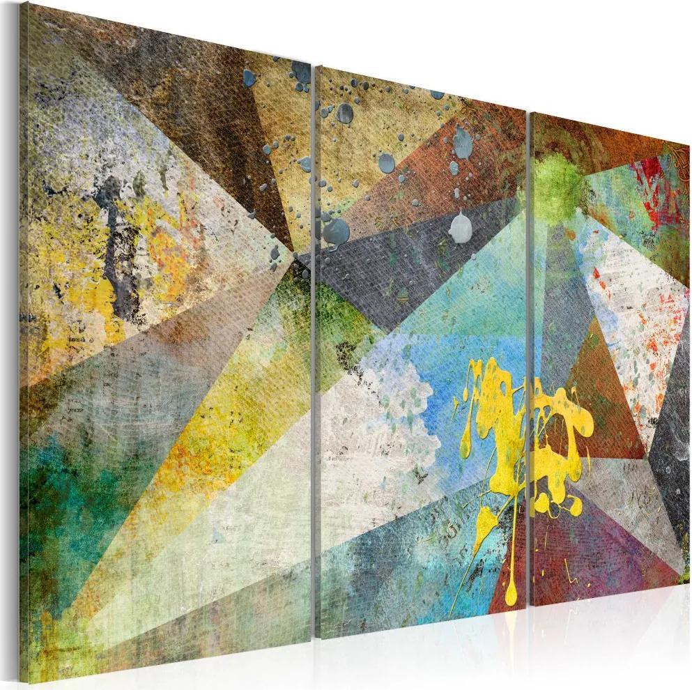 Tablou - Through the Prism of Colors 60x40 cm