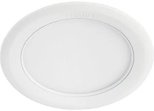 Spot incastrabil cu LED integrat Marcasite 21W 2100 lumeni, 3000K, Ø210 mm, alb