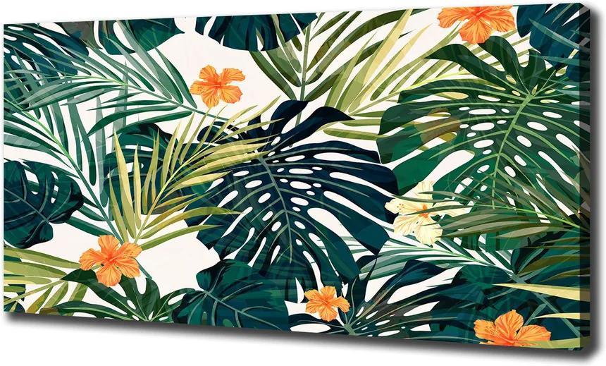 Tablou pe pânză Frunze tropicale