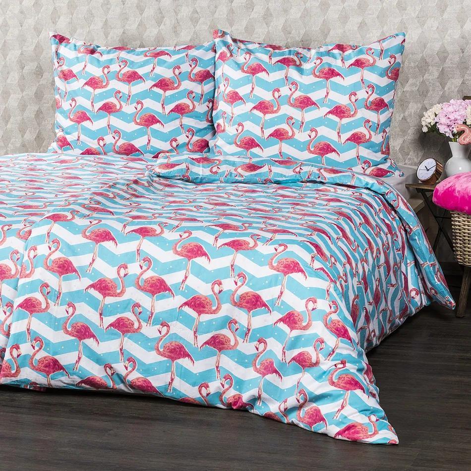 Lenjerie pat 1 pers. 4Home Flamingo, 140 x 200 cm, 70 x 90 cm, 140 x 200 cm, 70 x 90 cm