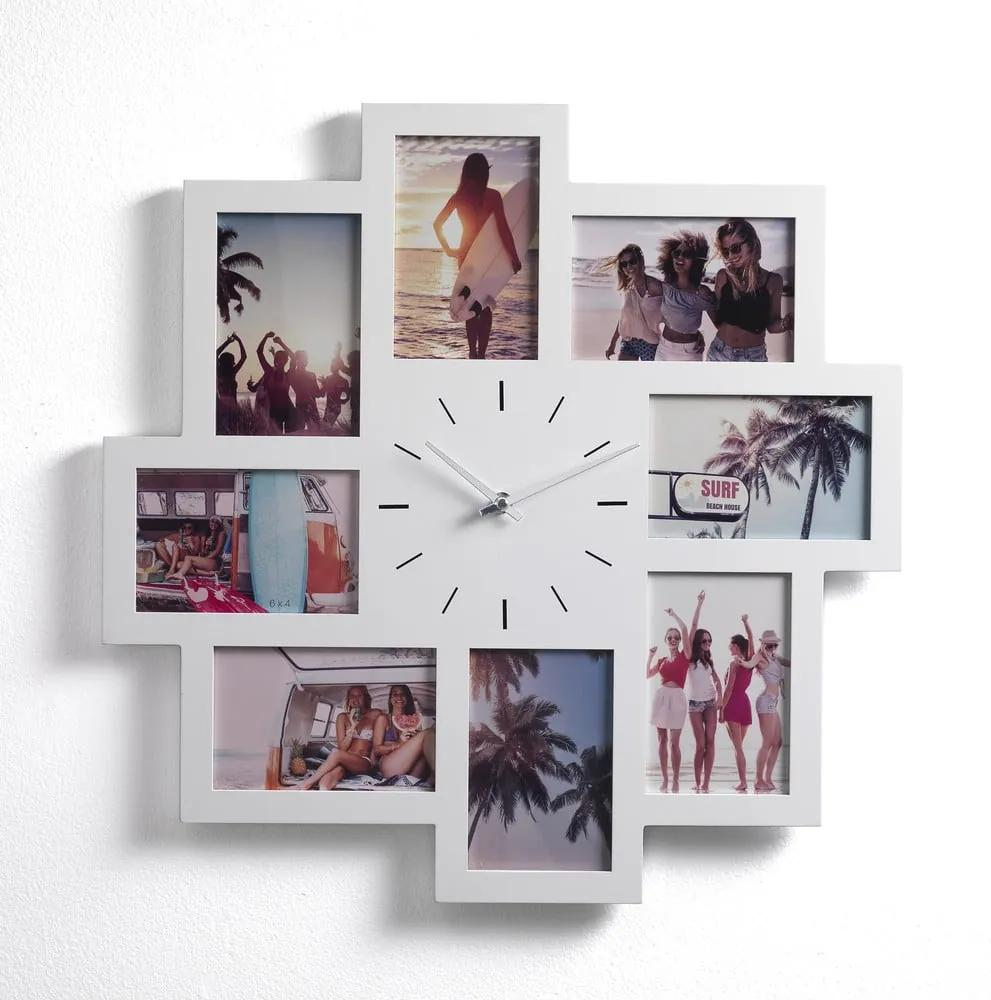 Ceas de perete cu rame foto Tomasucci Olly, 8 fotografii