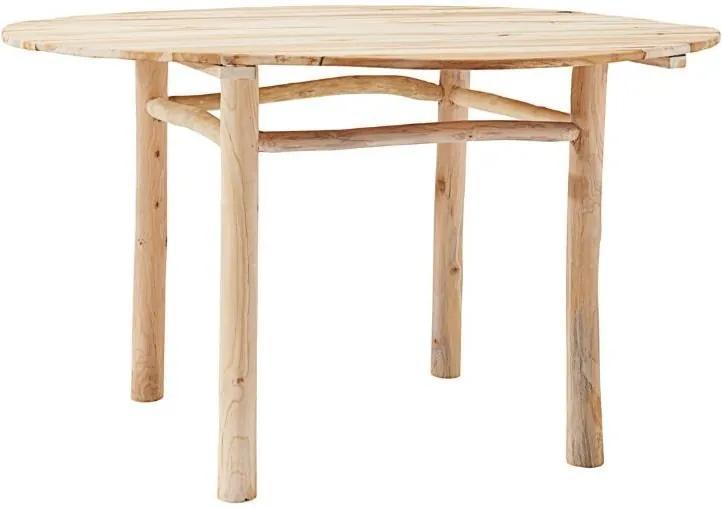 Masa dining maro din lemn de tec Teaky House Doctor