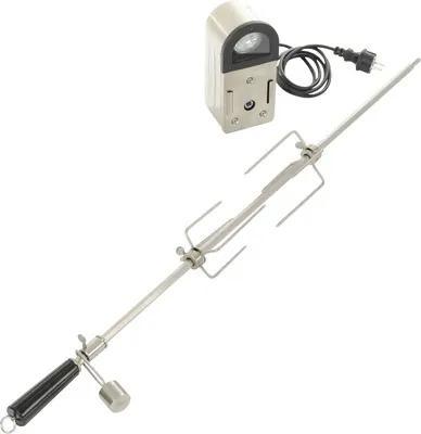 Kit rotiserie Landmann din inox 304, lampa LED