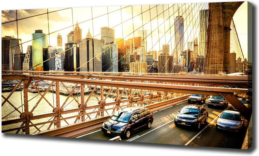 Tablou pe pânză canvas Podul brooklyn