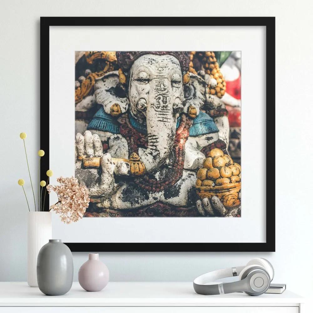 Imagine în cadru - Elephant God 40x40 cm