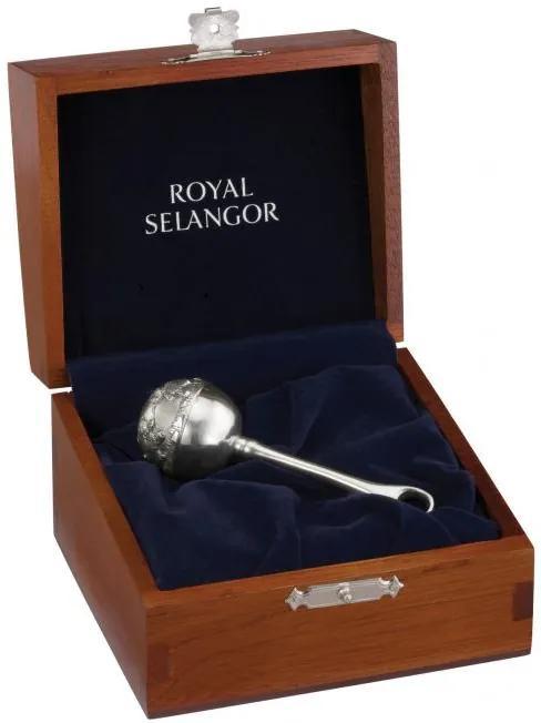 Jucarie nou nascut in cutie cadou Staniu Royal Selangor