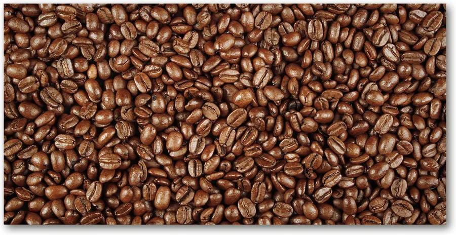 Tablou pe pe sticlă Boabe de cafea