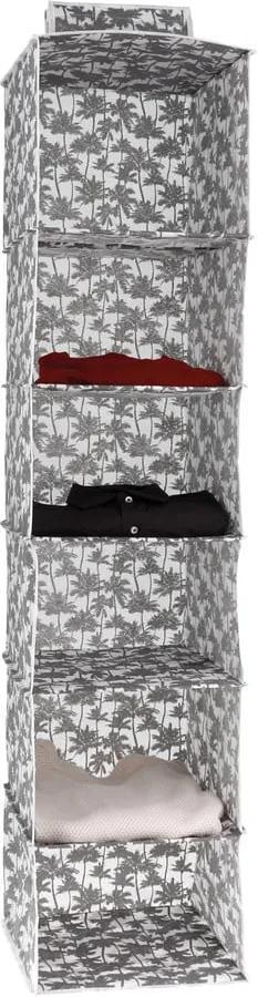 Organizator de agățat pentru haine Compactor Tahiti Cloth Rack, înălțime 128 cm