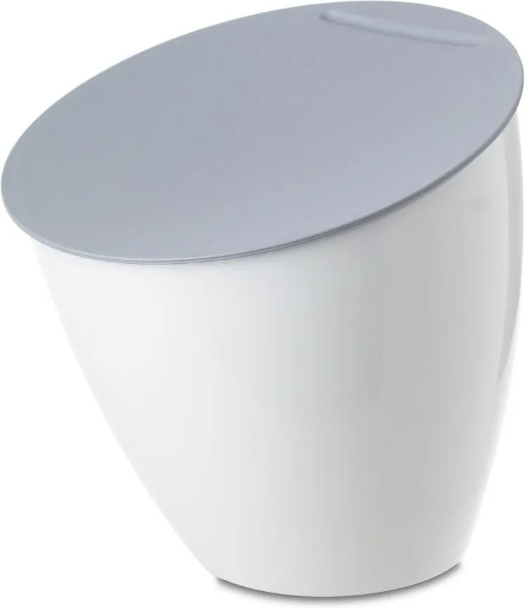 Coș de gunoi pentru blat bucătărie Rosti Mepal Calypso, alb