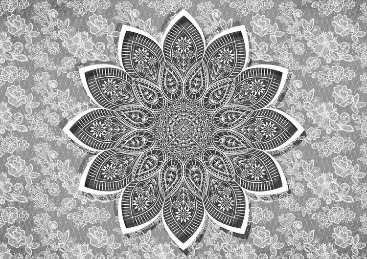 Modern Abstract Pattern Fototapet, (152.5 x 104 cm)