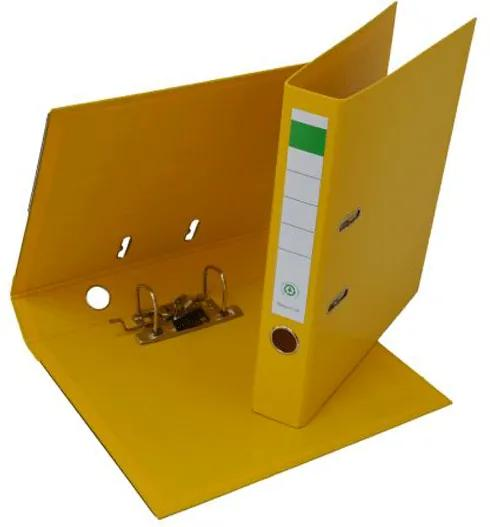 Biblioraft plastifiat PP/PP 5 cm galben