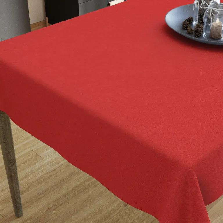Goldea față de masă decorativă loneta - roșu 35 x 45 cm