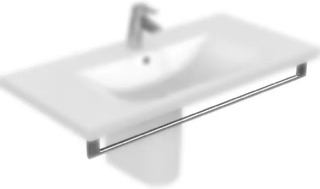 Port-Prosop Ideal Standard Connect Vanity 85cm cu fixare frontala, Chrome