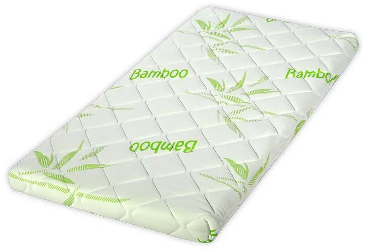 Lorelli - Saltea pat, Air Comfort Bamboo, 60 x 120 x 9 cm, husa bambus, spuma elastica cu canale