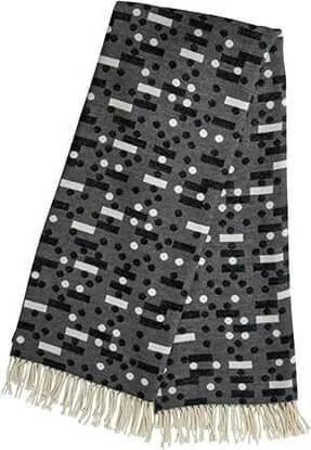 Patura Domino - Bumbac Gri (127x170cm)