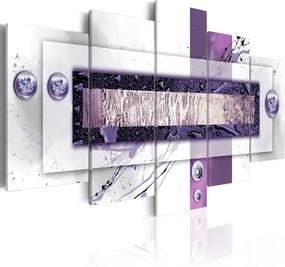 Tablou - Violet balance 100x50 cm