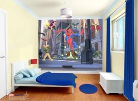 Walltastic Spiderman - tapeta ma zeď 305x244 cm