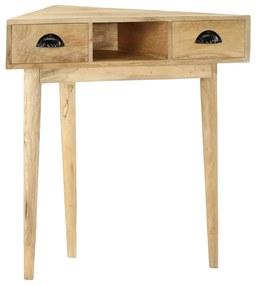 285860 vidaXL Masă consolă, 82 x 44 x 76 cm, lemn masiv de mango