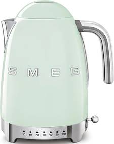 Ceainic electric 50's Retro Style 1,7l, verde pastel, indicator LED - SMEG
