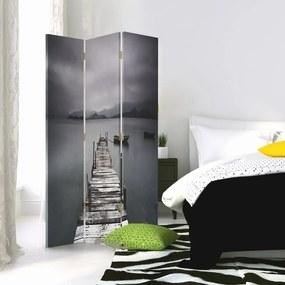 CARO Paravan - A Bridge | tripartit | reversibil 110x150 cm