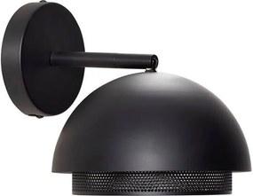 Lampa de Perete din Metal - Metal Negru Diametru (20 cm) x (28 cm)