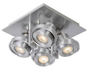 Spot LED dimabil Lucide 17906/21/12 LANDA 4xGU10/5W/230V crom