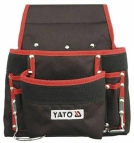 Yato YT-7410 Geantă scule pentru curea cu 8 buzunare, neagră