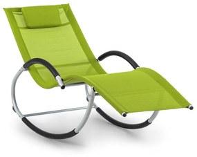 Westwood, canapea tip leagăn, ergonomică, din aluminiu, verde