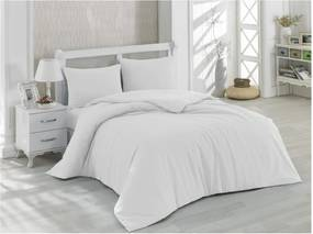 Lenjerie de pat cu cearșaf din bumbac Precioso, 200 x 220 cm